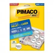 Etiqueta Pimaco Inkjet + Laser - 6093 00757