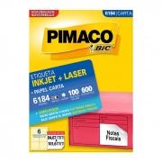 Etiqueta Pimaco Inkjet + Laser - 6184 00676