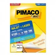Etiqueta Pimaco Inkjet + Laser - 6185 01270