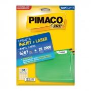 Etiqueta Pimaco Inkjet + Laser - 6287 00635