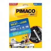 Etiqueta Pimaco Inkjet + Laser - 8099L 00565