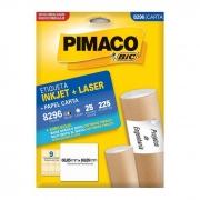Etiqueta Pimaco Inkjet + Laser - 8296 01180
