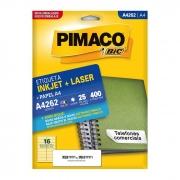 Etiqueta Pimaco Inkjet + Laser - A4262 02175