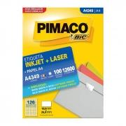Etiqueta Pimaco Inkjet + Laser - A4349 02179