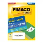 Etiqueta Pimaco Inkjet + Laser - A4350 00363