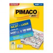Etiqueta Pimaco Inkjet + Laser - A4351 02180