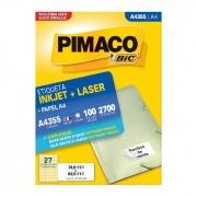 Etiqueta Pimaco Inkjet + Laser - A4355 04823