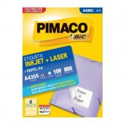 Etiqueta Pimaco Inkjet + Laser - A4365 00362