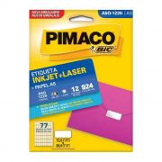 Etiqueta Pimaco Inkjet + Laser - A5Q1226 02188