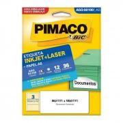 Etiqueta Pimaco Inkjet + Laser - A5Q50100 02197