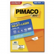 Etiqueta Pimaco Inkjet + Laser - A5Q-1534 02189