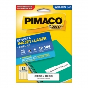 Etiqueta Pimaco Inkjet + Laser - A5Q-2372 02194