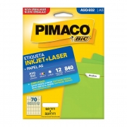 Etiqueta Pimaco Inkjet + Laser - A5Q-932 02199