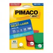 Etiqueta Pimaco Inkjet + Laser - A5R1919 12344