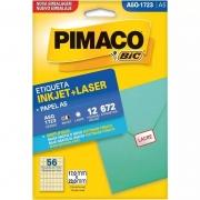 Etiqueta Pimaco Laser 12 Fls A5Q1723 00097