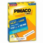 Etiqueta Pimaco Laser 2000 Un 25,4X101,60Mm 6181 00185