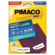 Etiqueta Pimaco Laser 22X55Mm A5Q-2050 02191