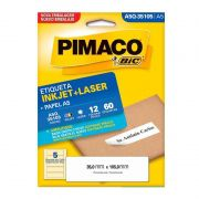 Etiqueta Pimaco Laser 60 UN 35X105mm A5Q 35105 02196