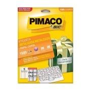 Etiqueta Pimaco Metalizada Carta 279,4X215,9mm 5 Un. 1585 18511