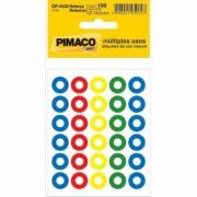 Etiqueta Pimaco Reforço Colorido Op-4433 14883