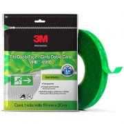 Fita 3M™ VHB™ Dupla-Face de Adesivo Transferível 4910 – Transparente, 19 mm x 20 m, Embalagem Flow Pack 26034