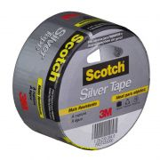 Fita Silver Tape 3939 45mm X 5m 3M Scotch 11355