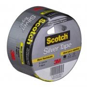 Fita Silver Tape 3939 45mm X 5m 3M Scotch 11355