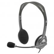 Fone Headset Logitech Com Microfone H111 24951