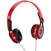 Fone de Ouvido Multilaser Headphon 360 Vermelho PH083 19014