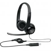 Fone Headset Logitech Com Microfone H390 24953