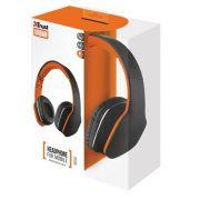 Fone de Ouvido Trust Mobi Headphone - Preto T20115 22507