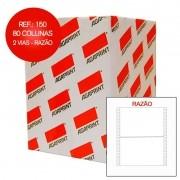 Formulário Agaprint 80C 2 Vias Branco Razão Caixa Com 3000 Jgs 2200150 27256