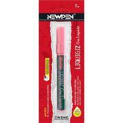 Giz Liquido Newpen Rosa Quartzo Pastel 4,5mm 05.722 28501