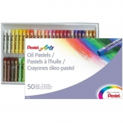 Giz Pastel A Oleo Pentel 50 Cores PHN-50 26651