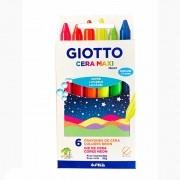 Gizão de Cera 6 Cores Neon Giotto Maxi 202402Es 29905
