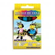 Gizão de Cera Estojo 6 Cores 9106 Acrilex 11144