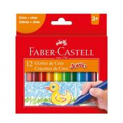 Gizão de Cera Faber-Castell 12 Cores Ht141112N 03190