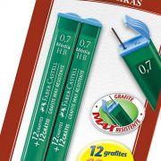 Grafite 0.7Mm Hb Fino com 2 Tubos com 24 Minas Sm/Tmg07Hb Faber-Castell 03257