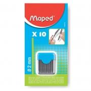 Grafite Para Compasso Maped 070600 10 Un 13364