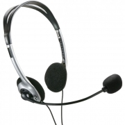 Fone Headset Basico P2 Preto Ph002 Multilaser 20737