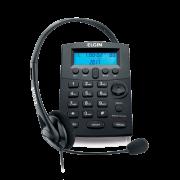 Telefone Elgin Headset Com Identificador de Chamadas Preto HST8000 24487