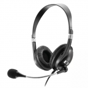 Headset Multilaser Premium Acoustic P2 Preto PH041 30155
