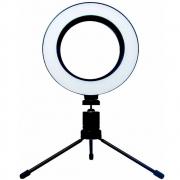 Iluminador Ring Light 6,5 Polegadas GV Brasil Com Tripé Tp-3801 30225