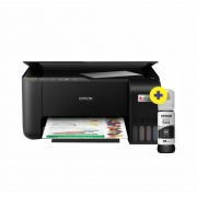 Impressora Multifuncional Ecotank L3250 Epson + 1 und Refil de Tinta 544 Original T544120-AL Preto Grátis