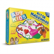 Kit de Massinhas Acrilex Art Kids 4 40004 29626