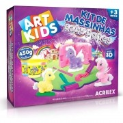 Kit de Massinhas Acrilex Art Kids Baby Poney 40042 29630