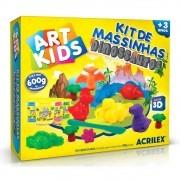 Kit de Massinhas Acrilex Art Kids Dinossauro 40041 29629