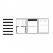 Kit Stick Notes Bloco Adesivo UP4YOU Preto Lem00002Up 28153