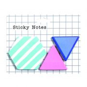 Kit Stick Notes Formas Adesivo UP4YOU Turquesa Lem00003Up 28154