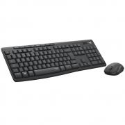 Kit Teclado e Mouse Logitech Sem Fio USB Silent Touch MK295 29725